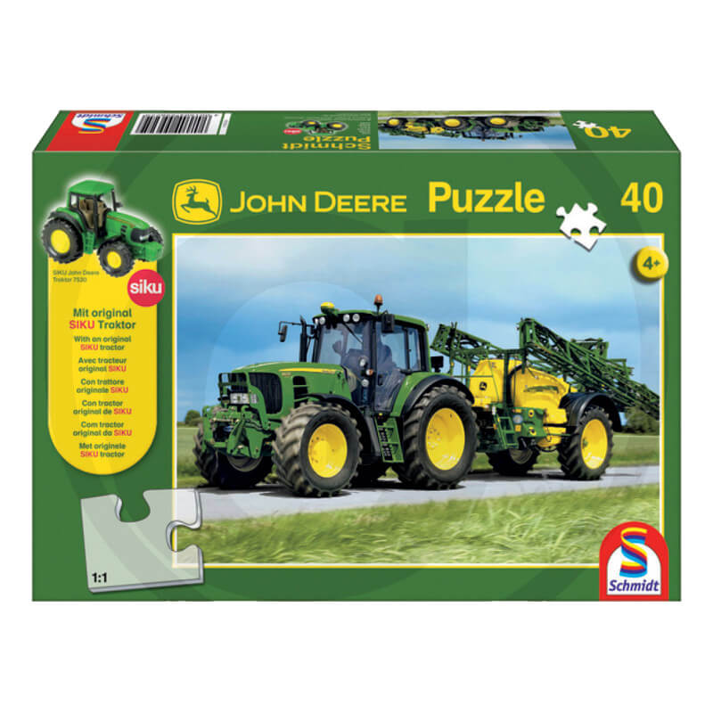 John Deere 6630 permetezővel puzzle