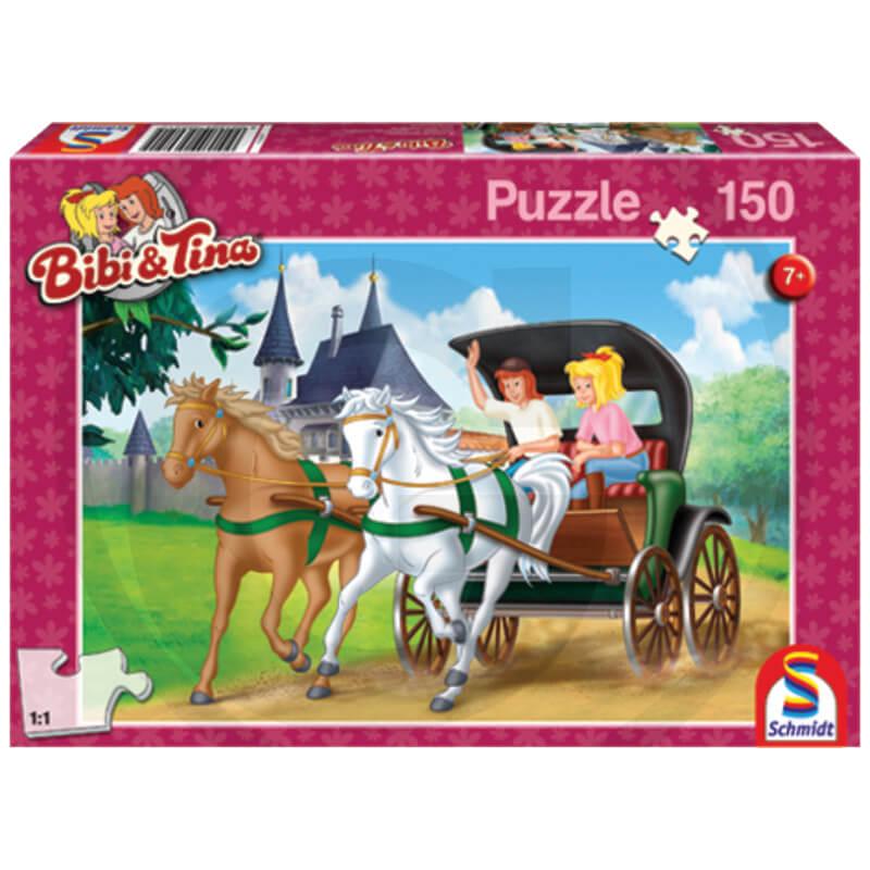 Bibi és Tina Lovaskocsikázás puzzle