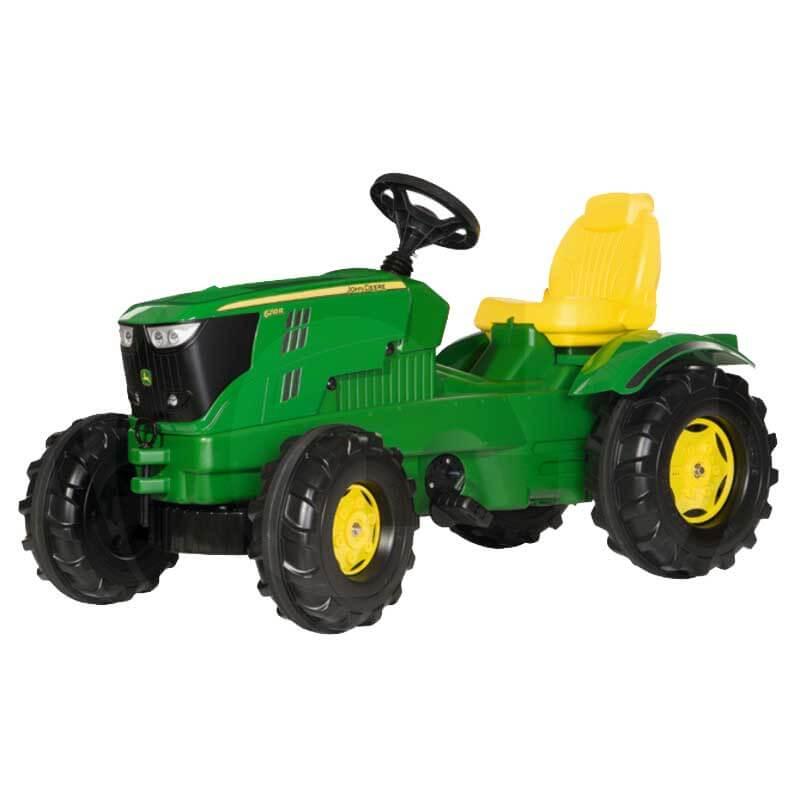 John Deere 6210 R pedalos traktor