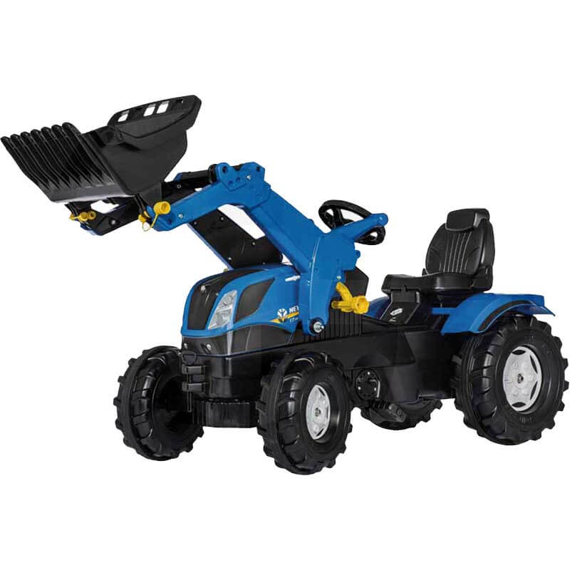 Rolly Toys Traktor Homlokrakodoval