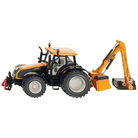 Valtra traktor földgyaluval