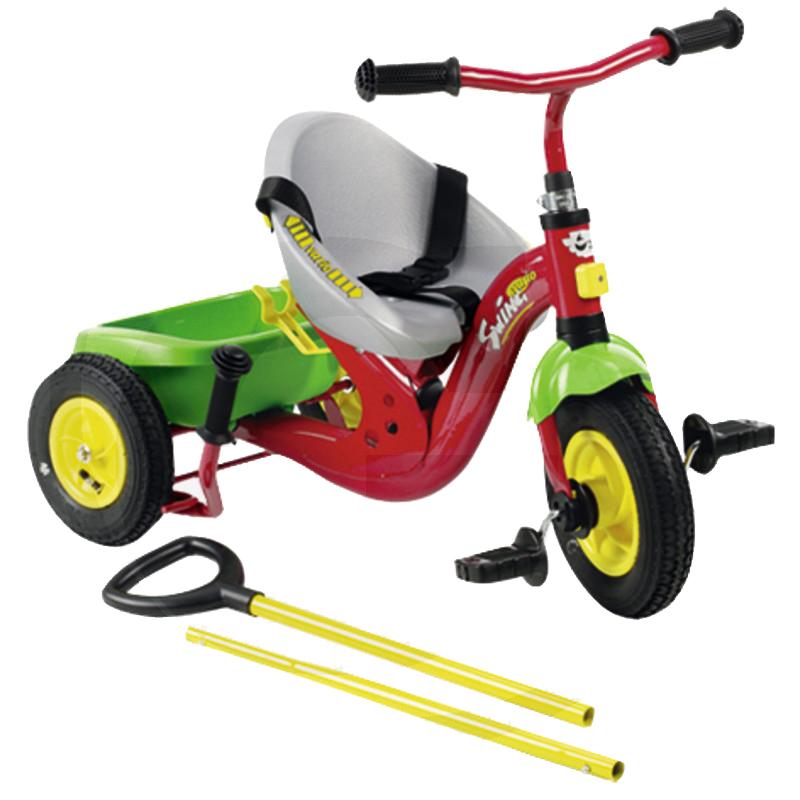 Rolly Toys háromkerekű bicikli csomagtartóval