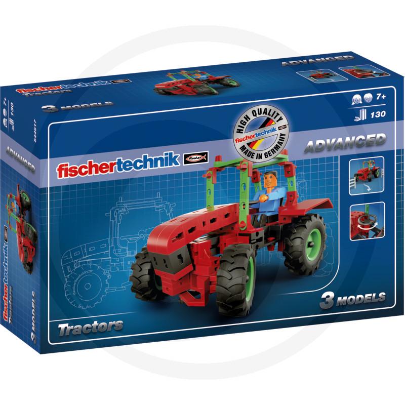 Fischer traktoros építőjáték